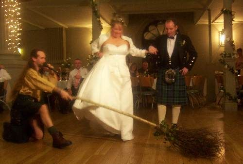 Scottish Wedding Customs - Jumping the Besom think this is American too!