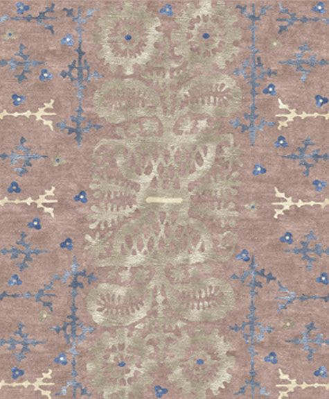 U0027Double Daisyu0027 Handcrafted Rug By Skilled Nepalese Weavers From Custom Cool  Rugs