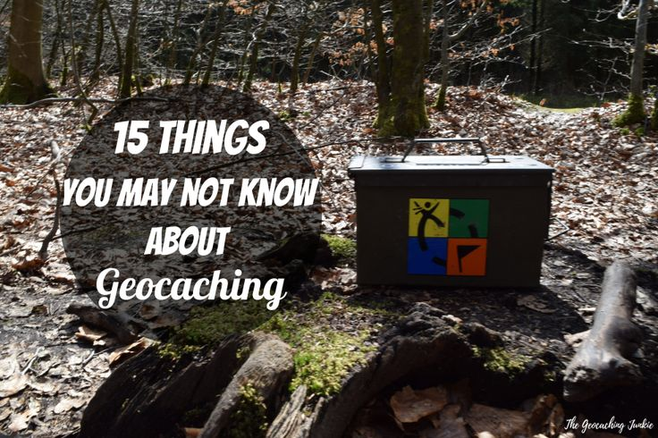 15 Things you may not know about #geocaching