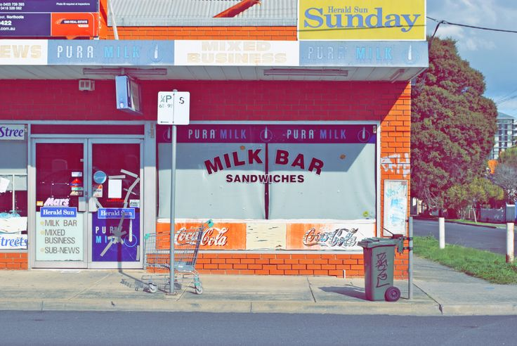 How Aussie!! Just popping down the milk bar for a Sunny Boy and Smiths milkbar7
