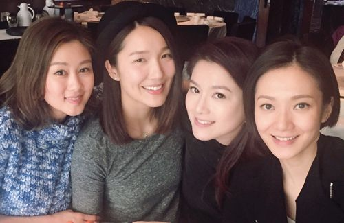 Leanne Li, Eliza Sam, and Christine Kuo are Linda Chung's closest friends in the entertainment industry and will be bridesmaids at Linda's wedding banquet.