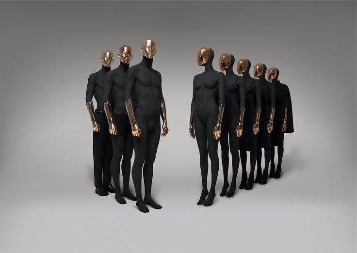 paris black copper by hans boodt mannequins collections pinterest paris copper and black. Black Bedroom Furniture Sets. Home Design Ideas