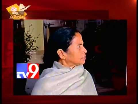 We are against A.P division - Mamata Banerjee
