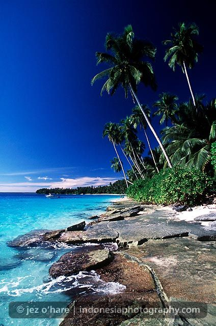Hinako Islands, Nias, North Sumatra, Indonesia.