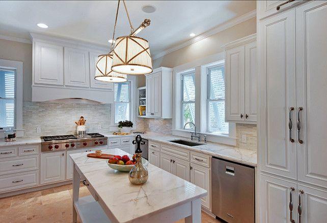 Kitchen cabinet paint color kitchen cabinet paint color for Alabaster white kitchen cabinets