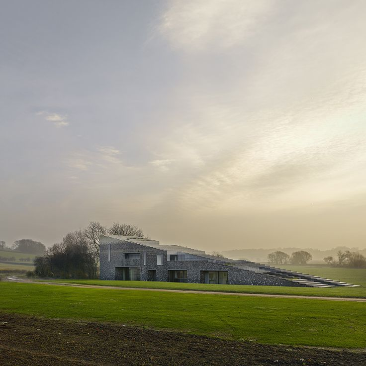 Flint House by Skene Catling De La Pena, wins the prestigious RIBA 2016 'House of the Year' award on Channel 4's Grand Designs: House of the Year