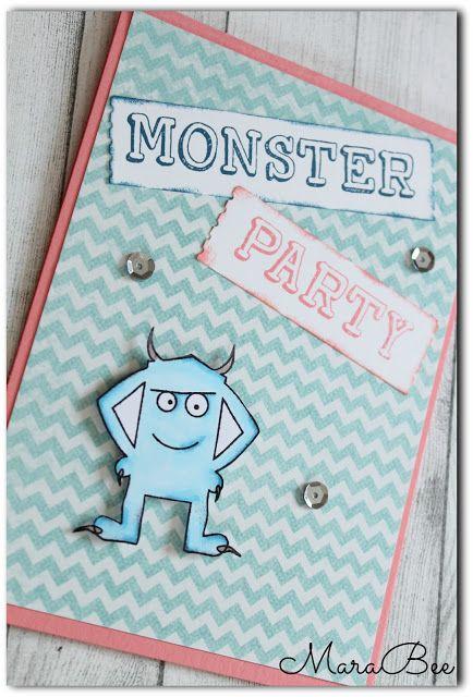 MaraBee´s Welt: Meine Monster!