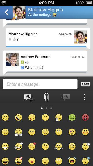 BBM for iPhone and Android review
