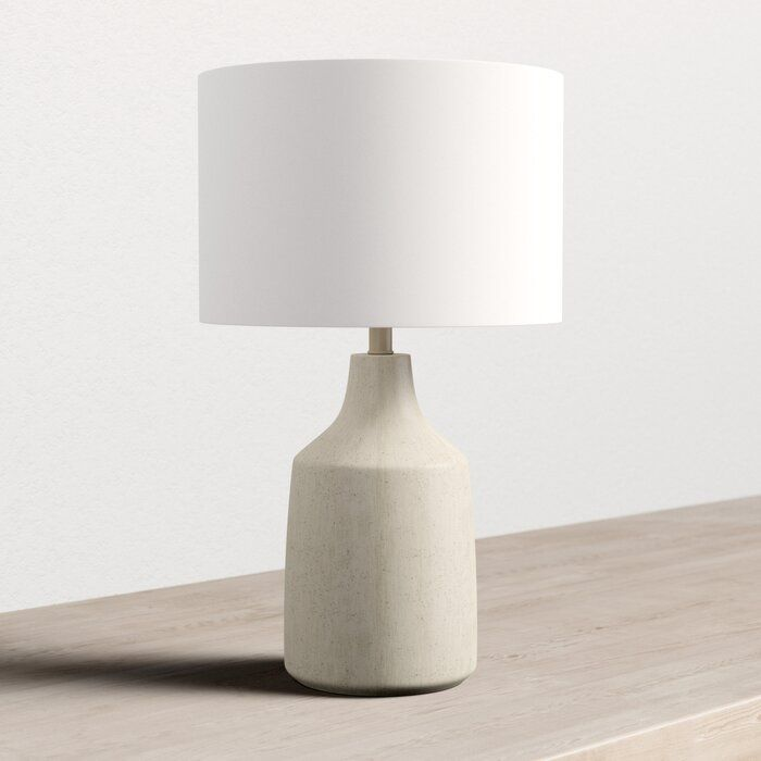 Alina 25 Table Lamp Allmodern In 2020 Table Lamp Lamp Contemporary Table Lamps