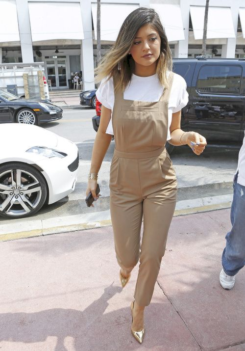 Kylie Jenner // street style