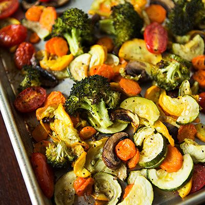 An array of Roasted Vegetables.... simply delish!