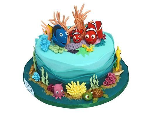 """Tolle Torte: Dieses Exemplar würdigt den Film """"Findet Nemo"""""""