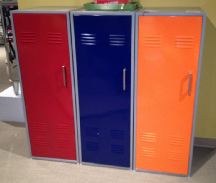 chic kids lockers for kids room colorful locker storage