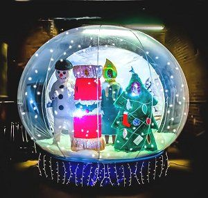 The Christmas Snow Globe - Walkabout Characters | UK