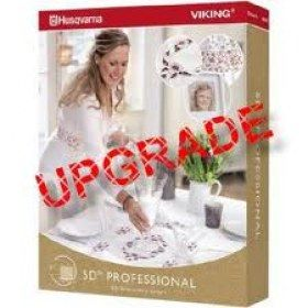 Software Husqvarna Viking aggiornamento a 5D Professional - Include undici moduli software più tre software esclusivi.