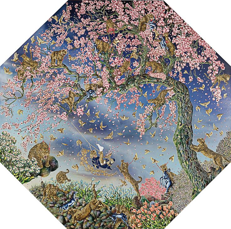 Raqib Shaw- I was fortunate to experience some of his works at the recent Asia Pacific Triennial at GoMA. They were simply stunning. The sheer scale, fine detail and vibrancy of his works works left a lasting impression on me - one of awe.