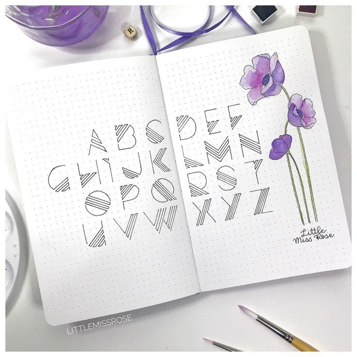 Bullet Journal – Plan With Me – September 2018
