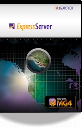 Express Server 8 from Lizardtech: Image Delivery, Gisus Geo, Geo Technology, Expressions Server, Standards Bas Image