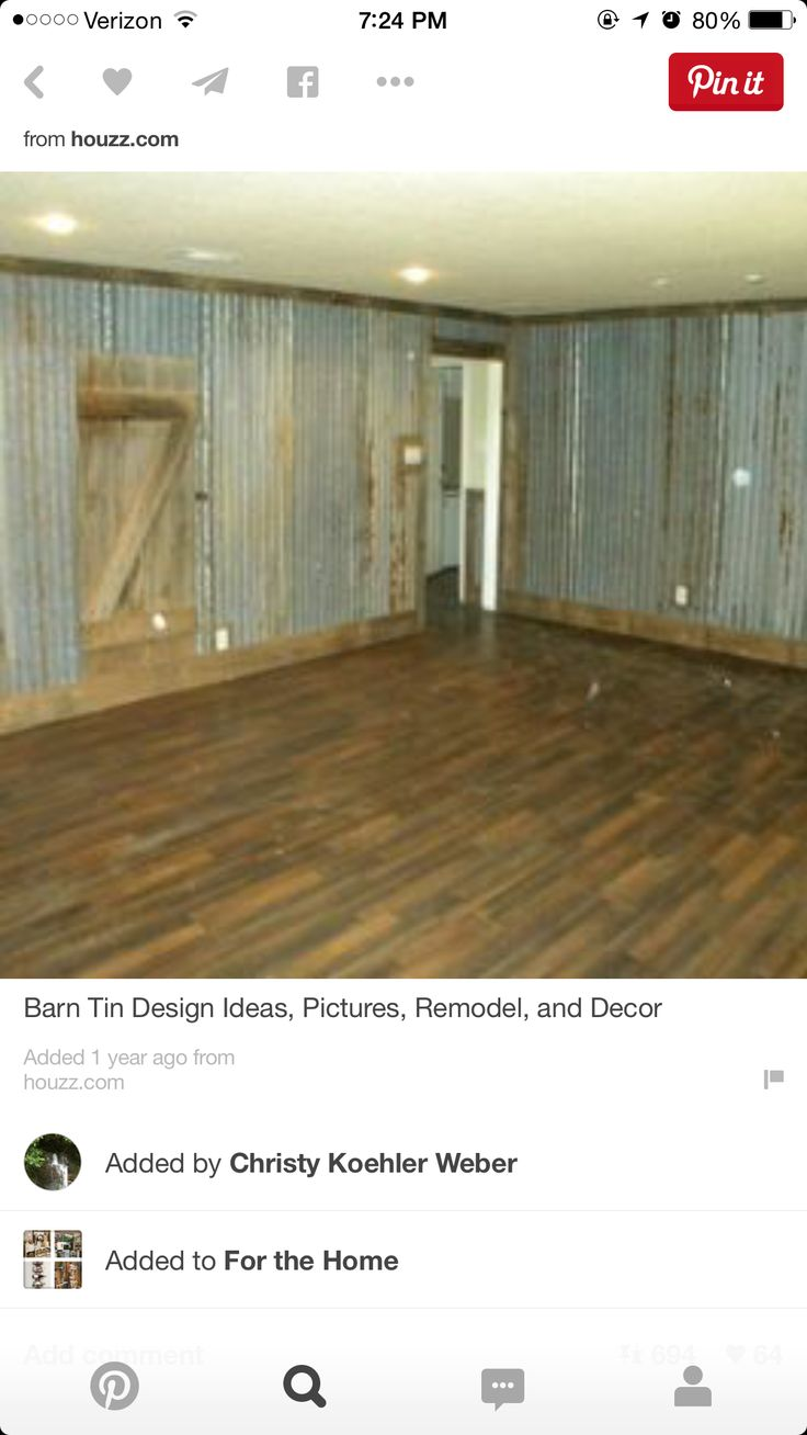 Special walnut design ideas amp remodel pictures houzz - Find This Pin And More On My Dream Farm Barn Tin Design Ideas Pictures Remodel