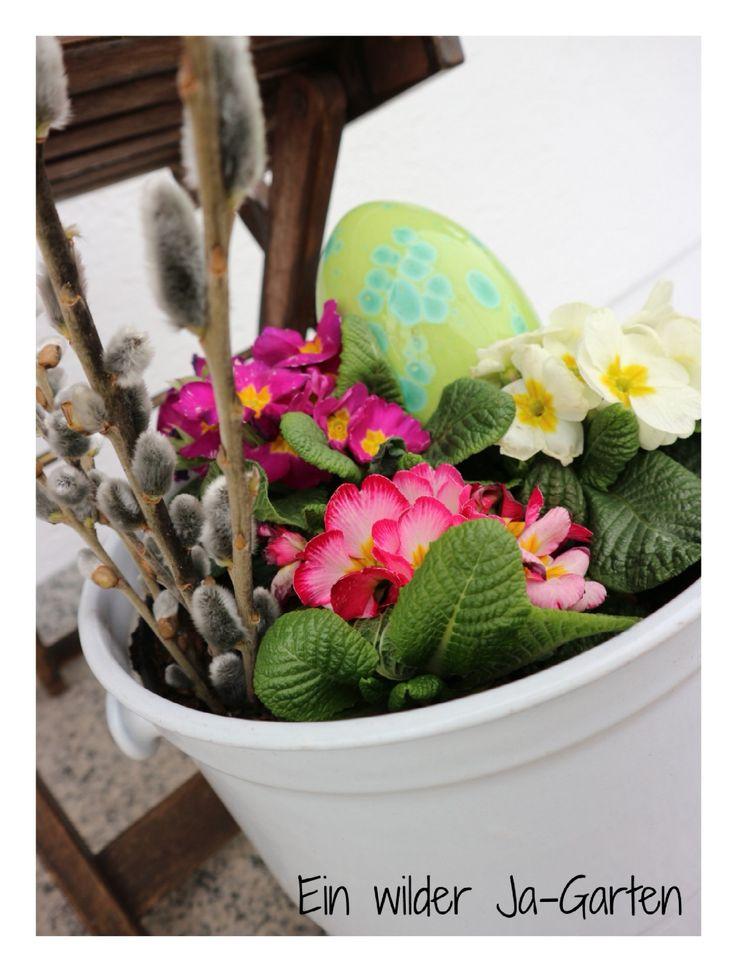 Frühlingsblumen, Deko