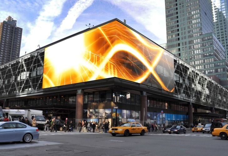 NYC Port Authority Bus Terminal Now Boasts World's Largest LED...