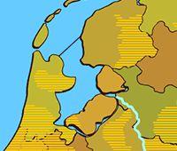 streken en regio's spel