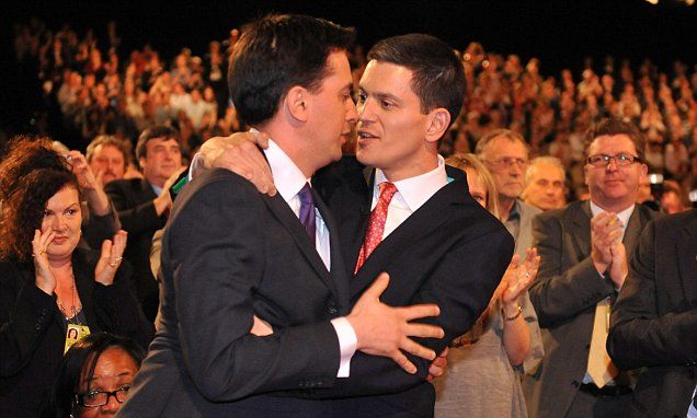 David Miliband snubs Ed with no invite for his 50th birthday