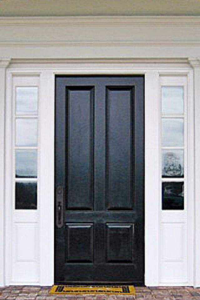 Home Exterior Black Front Door Home Exterior Pinterest Home Home Exteriors And Style