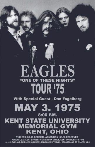The Eagles Concert Poster https://www.facebook.com/FromTheWaybackMachine