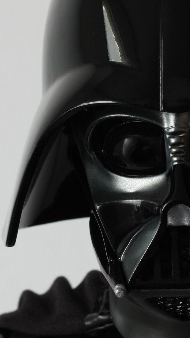 Darth Vader Helmet Close Up Android and iPhone Wallpaper