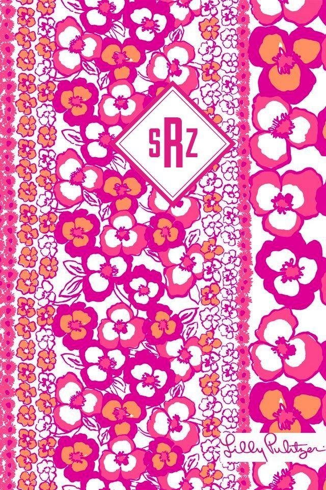 Mejores 11 imágenes de lilly pulitzer binder cover with monogram en ...