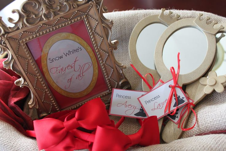 Snow White Party Theme | Fanciful Events: Snow White themed birthday party!