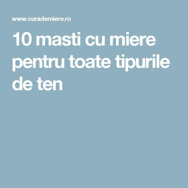 10 masti cu miere pentru toate tipurile de ten