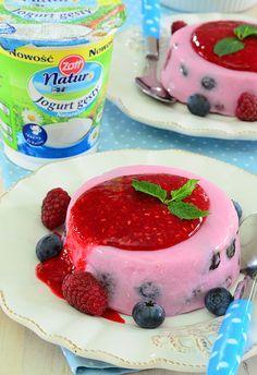 Jogurtowy deser owocowy - łatwy i zdrowy - MniamMniam.pl