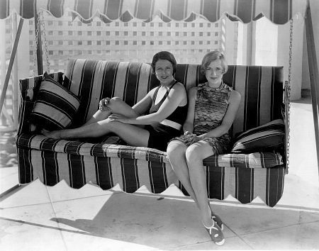 Norma talmadge and constance talmadge at a beach house in for House sitting santa monica