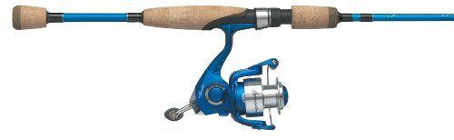Pflueger 2-Piece Apprentice Medium Spinning Rod and Reel Combo - http://fishingrodsandreels.nationalsales.com/pflueger-2-piece-apprentice-medium-spinning-rod-and-reel-combo/