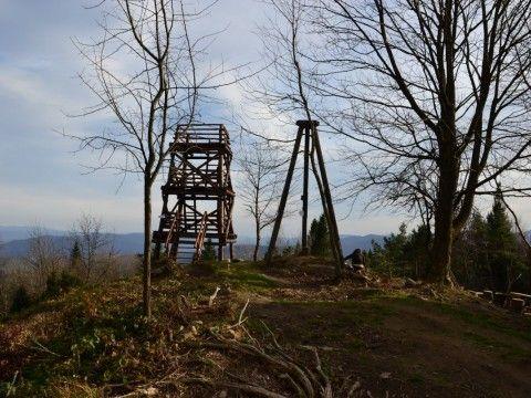 Korbania - Wieża widokowa.