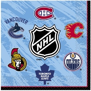 NHL Luncheon Napkins