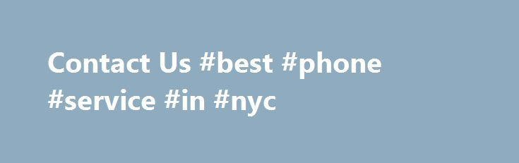 Contact Us #best #phone #service #in #nyc http://uganda.remmont.com/contact-us-best-phone-service-in-nyc/  # Disability Service Facilitator Local Law 27 amends the Administrative Code of the City of New York, in relation to the designation of Disability Service Facilitators at City agencies. The law instructs each City agency to designate an employee as the Agency s Disability Service Facilitator. This individual ensures the Agency complies with and carries out its responsibilities under the…