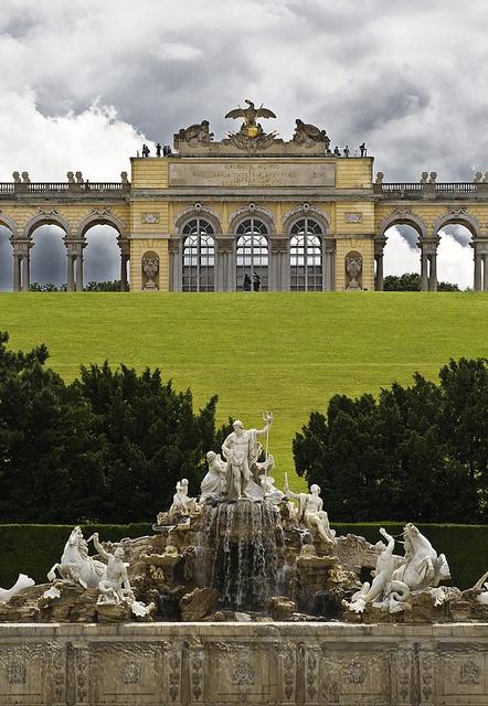 Schönbrunn Palace Garden, Vienna, Austria