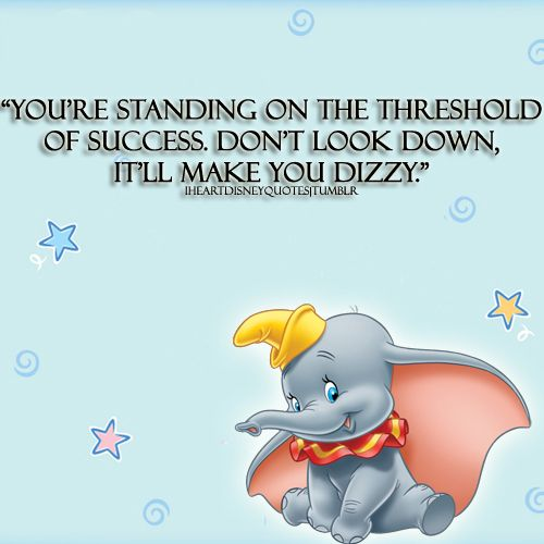 Dumbo Quotes Inspiration Httpsi.pinimg736Xf5Be62F5Be62397D494D3.