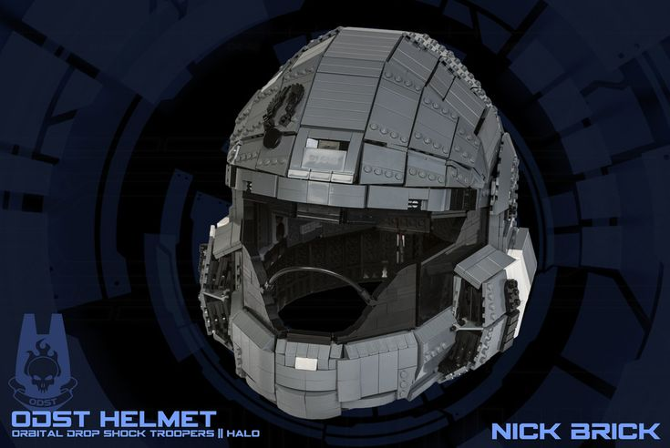 """ODST Helmet - Halo"" by Nick Brick: Pimped from Flickr"
