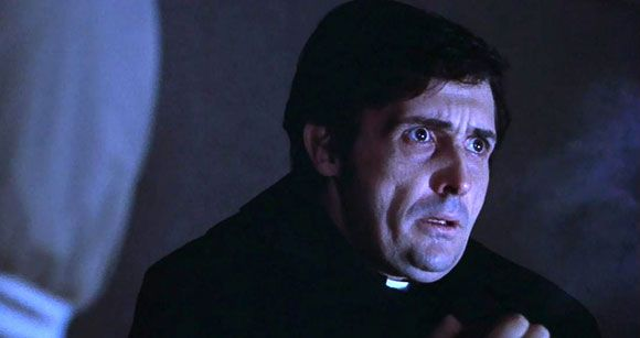 """the selflessness of damien karras in the film the exorcist """"what an excellent day for an exorcism"""" —the exorcist the classic 1973 horror film the exorcist,  (the actor who played father damien karras)."""
