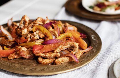 Les fajitas de porc aux pommes et aux crevettes sont une autre façon de savourer le porc du Québec