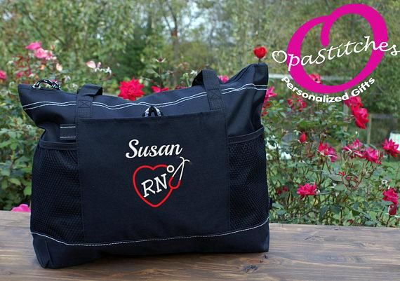 Nurse Tote Bags Monogrammed student clinical bag For Work