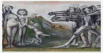 한국에서의 학살, 파블로 피카소, 1951