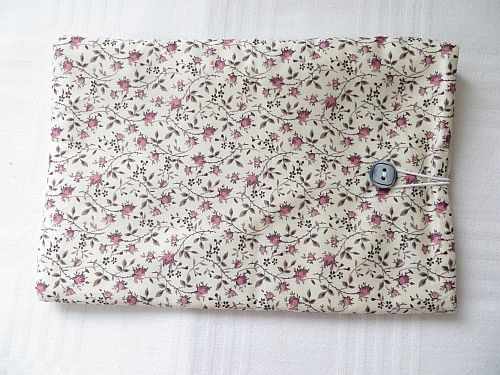 Kindle Tablet Sleeve in Liberty Tana Lawn Rosy