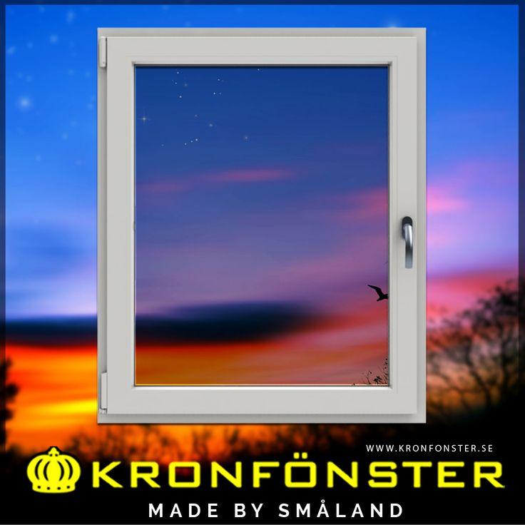 Fönster från Kronfönster - Made by Småland  Avans: Inåtgående fönster sido/bottenhängt 1-luft 3-glas  #pvcfönster #fönster #Avans #superenergiglas #3glasfönster #Kronfönster  Läs mer » https://goo.gl/opwDbK