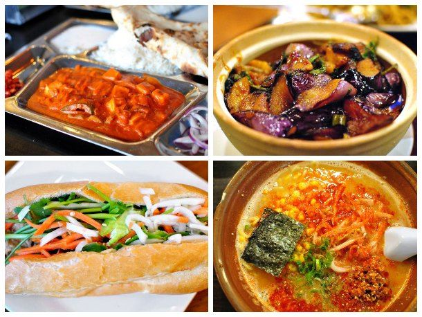 Boston Cheap Eats: 10 Great Dishes Under $10 - including Jo Jo Taipei, Allston; House of Tibet Kitchen, Somerville; Galleria Umberto, North End; Bánh Mì Ba Le, Dorchester; etc.