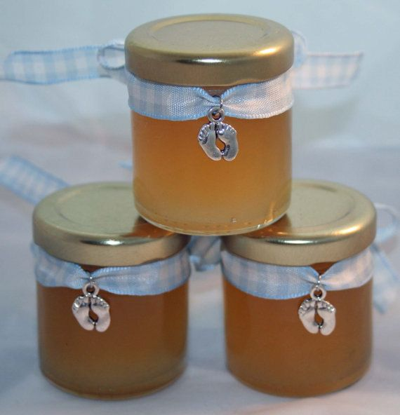 Baby Shower Favour Pure Honey Filled Favour by Melysweddings, £1.95